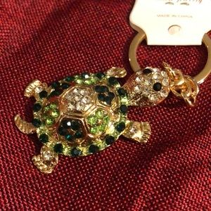 Cute turtle keychain